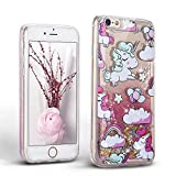 Coque iPhone 6S Plus Glitter Liquide Cover Mode 3D TPU Etui - Mosoris iPhone 6 Plus...
