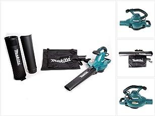 Makita Elektro-Laubsauger/Laubbläser UB0801V, schwarz/blau