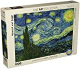 Vincent Van Gogh Starry Night 1000 Piece Puzzle