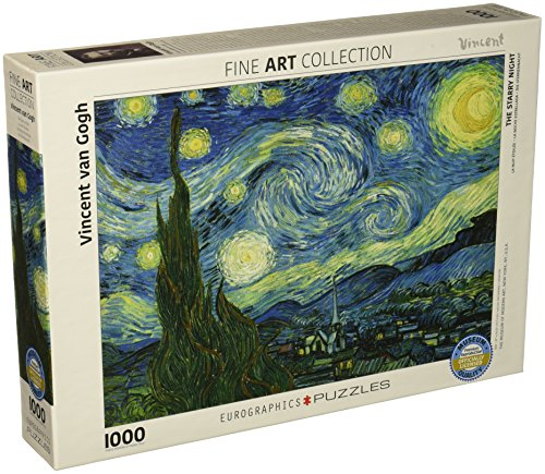 Starry Night Van Gogh 1000pc Puzzle