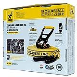 Gibbon Slacklines Classic Line mit Tree Pro, Gelb, 25 Meter (22,5m Band + 2,5m Ratchendband), Anfänger, Beginner und Einsteiger, inklusive Baumschutz, Ratschenschutz und Ratschenrücksicherung, 50 mm breit, perfekter Freizeitsport - 6