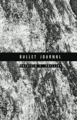 Bullet Journal: Black Marble Dotted Grid Journal, 130 Pages, 5.5x8.5,