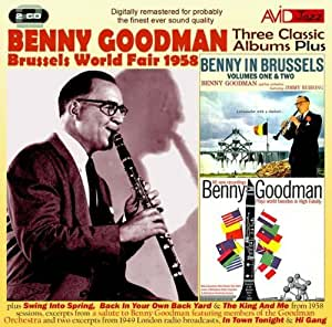 Three Classic Albums Plus (Benny In Brussels Vol 1 / Benny In Brussels Vol 2 / Plays World Favorites In High-Fidelity)