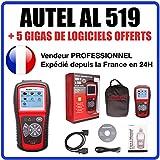 Interface Diagnostique AUTO MultiMarques - AUTEL AutoLink AL519 AUTOCOM / DELPHI