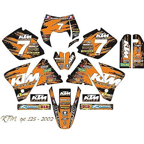 KTM EXC MXC C301–02MX adhesivo Kit (Non Oem)