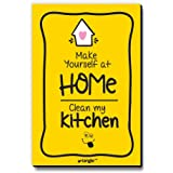 Seven Rays Make Yourself at Home Clean My Kitchen Multipurpose Fridge Magnet