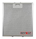 'Filtre aluminium pour hotte d'aspiration mm. 267x 305x 9-adaptabilité:...