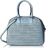 Silvian Heach Damen Trunk Bag Cambre Shopper, Türkis (Blue Light), 17x28x38.50 centimeters