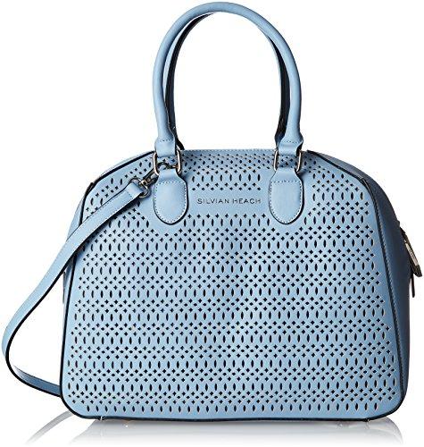 27e62d53a Silvian Heach - Trunk Bag Cambre, Bolsos de mano Mujer, Turchese (Blue Light