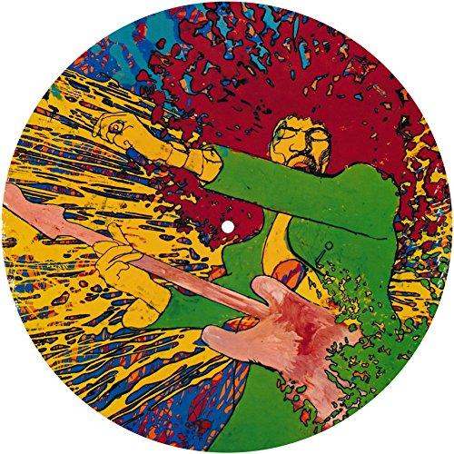 - Slipmat - panno feltro per giradischi vinile 'Jimi Hendrix'