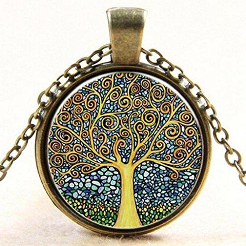 Xinan Modeschmuck, Design Antik Bronze Lange Kette Halskette