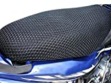 #1: Vheelocityin Motorcycle/ Scooty Net Fabric Seat Cover