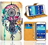 Samsung Galaxy Grand Neo Plus Funda, FoneExpert® Wallet Flip Billetera Carcasa Caso Cover Case Funda de Cuero Para Samsung Galaxy Grand Neo Plus i9060 / Galaxy Grand Neo (Pattern 9)