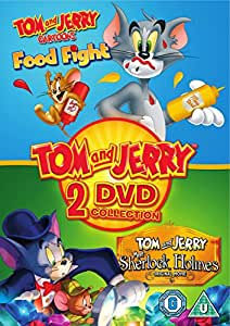 Tom And Jerry: Food Fight/Meet Sherlock Holmes DVD 2017 ...