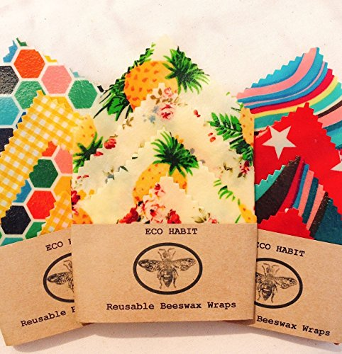 Beeswax food wraps: plastic free, eco friendly and 100% Natural!
