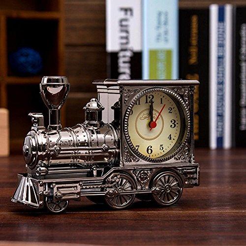 KHSKX Motor-Wecker Babyalarm clock kreative Schüler Geburtstag Geschenke Großhandel Kunststoff Schale niedlich Wecker gray