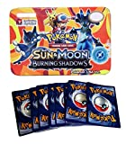 #10: Assemble Sun & Moon Burning Shadows Trading Card Game With Metal Box For Kids Multicolor\