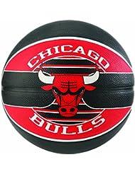 Spalding NBA Team Chicago Bulls Ballon de Basket Mixte