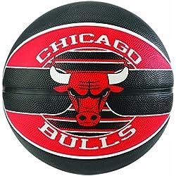 Spalding NBA Team Chicago Bulls 83-583Z Balón de Baloncesto, Unisex,, 5