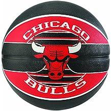 Spalding NBA Team Chicago Bulls 83-583Z Balón de Baloncesto, Unisex,, ...