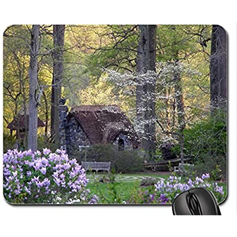 Fata Cottage Mouse Pad, Tappetino per Mouse-Mouse Pad, case)