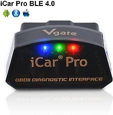 Vgate iCar Pro Bluetooth 4.0 (BLE) OBD2 OBDII Fehler Code-Leser Auto Check Engine Licht mit ELM327 Adapter