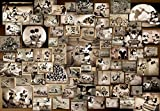 Disney Mickey Mouse 1000 piece black-and-white film collection D-1000-398 (japan import)