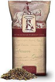 Mühldorfer Kräuter Müsli, 20 kg, bei Husten und Atemwegsbeschwerden, ideale Rationsergänzung, mit wertvoller Kräutermischung