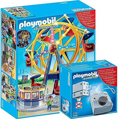 Playmobil 5552 Ruota Panoramica motorizzata - 5556 Accionamiento elétrico para Rides