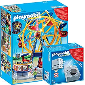 playmobil summer fun freizeitpark 2 teiliges set 5552. Black Bedroom Furniture Sets. Home Design Ideas