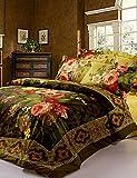 GAOL, vierteilige Anzug,schöne Blume neue Bettwäsche-Sets Bettwäsche-Sets 3D-Muster Ankunft Luxus, Queen-Size , queen