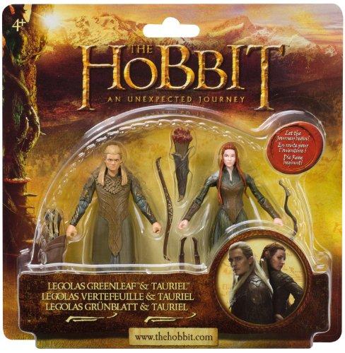 Imagen 1 de The Hobbit BD16014 - Figuras de Legolas y Tauriel
