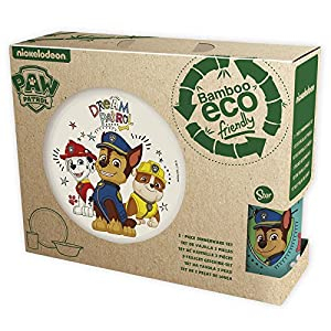 Paw Patrol The Canine Patrol Set – Bamboo with Orla 3 Pieces Boy Dream, Color (Stor st-01305)
