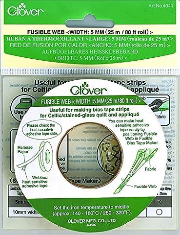 Clover fusibles Web Largeur : 5 mm - 25 m