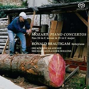 Mozart: Piano Concertos Nos. 24 & 25 (BISSACD1894)