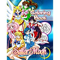 Sailor Moon Coloring Book: 40 Exclusive Illustrations