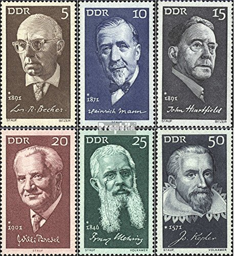 Prophila Collection DDR 1644-1649 (kompl.Ausg.) 1971 Persönlichkeiten (Briefmarken für Sammler)