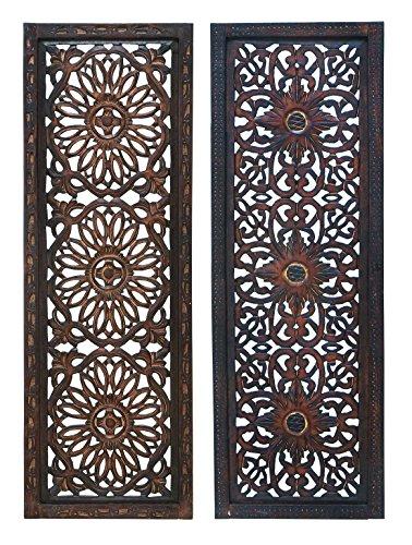 deco-79-34087-elegante-escultura-de-pared-madera-panel-de-pared-varios-36-3048-cm-juego-de-2