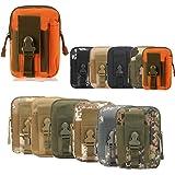 ZhaoCo Multi-Purpose Poly Tool Holder, tattico Molle edc Sacchetto Utility Gadget Cintura Marsupio con Fondina Telefono Cellu