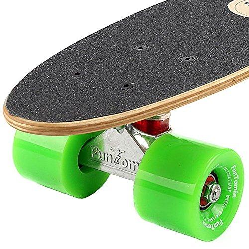 Zoom IMG-2 funtomia skateboard mini cruiser 57cm