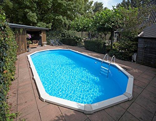Interline 55000120 oval Pool Sunlake Komplett Set - 3