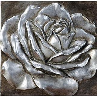 Rose 3D Wall Plaque