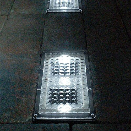 SolarCentre Paverlights solarbetriebene Boden-Einbauleuchten (Set von 2)