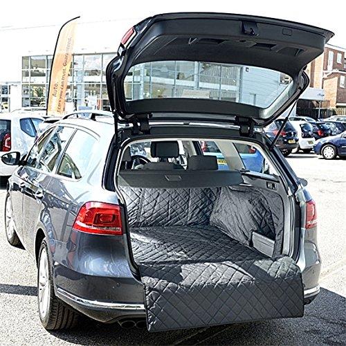 UK Custom Covers qbl223b tailliert gesteppt Kofferraumwanne Matte (Gesteppte Wasserdichte Stiefel)
