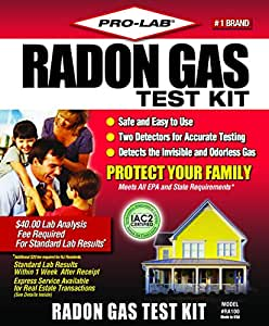 Pro lab incorporated do it yourself radon gas test kit ra100 toys games - The office radon test kit ...