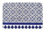 Geometrische Muster Tür Matte Schöne Tür Matte, Blau