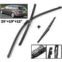 autista + passeggero - 5902538922654 800 mm // 700 mm Kit per parabrezza anteriore Spazzole tergicristallo