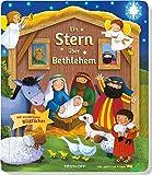 Ein Stern über Bethlehem: Die Weihnachtsgeschichte in Bildern und Texten für Kinder ab 2 Jahren -