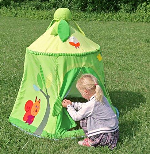 Imagen 4 de Haba 8457 - Carpa para juegos, diseño de bosque