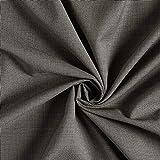 Fabulous Fabrics Anzugstoff Pepita – grau — Meterware